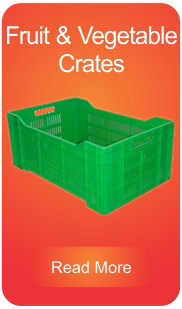 Fruits and Vegetables Crates